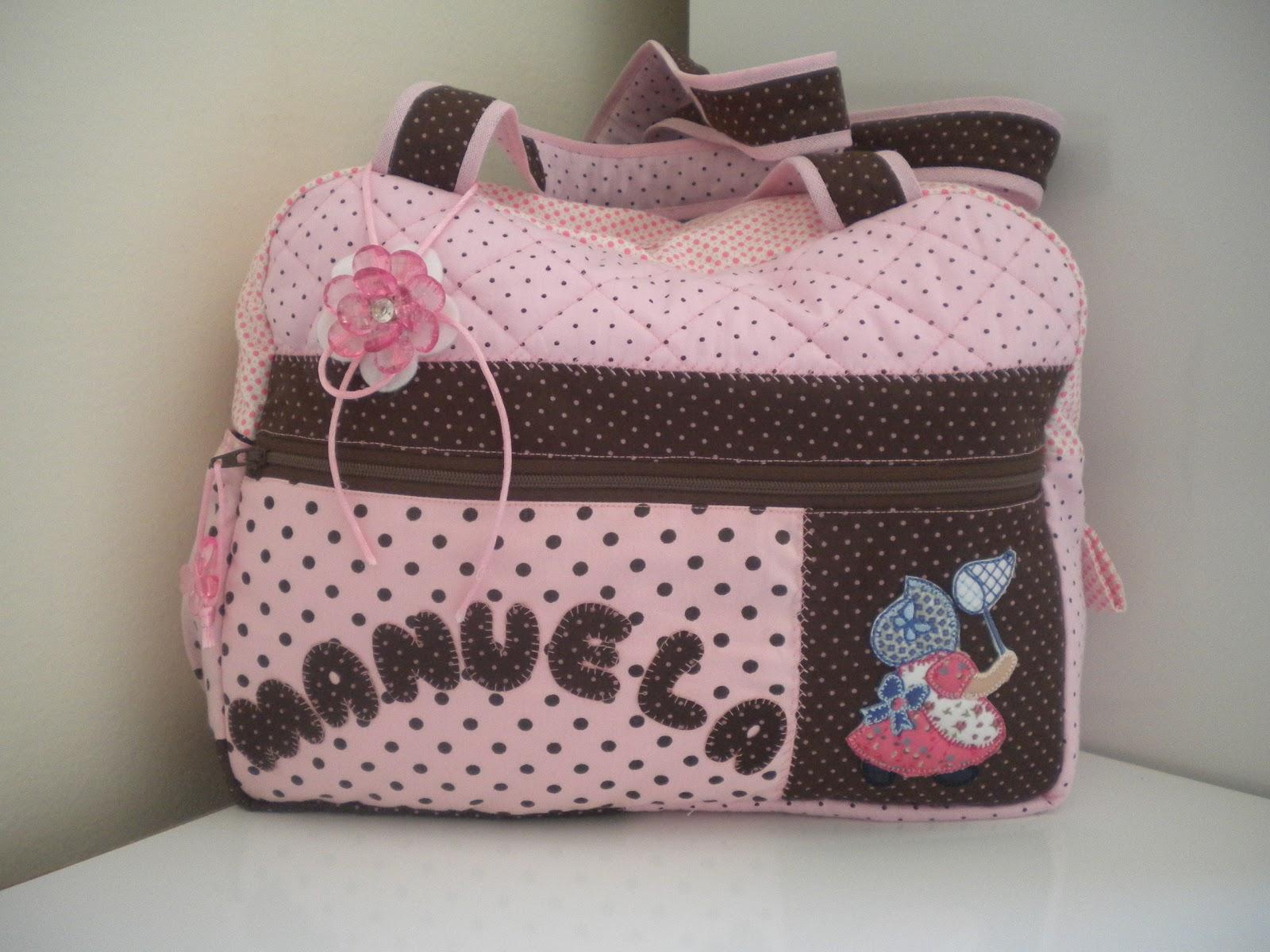 Bolsa De Tecido Bebe : Camila kezo patchwork bolsas para beb? personalizadas
