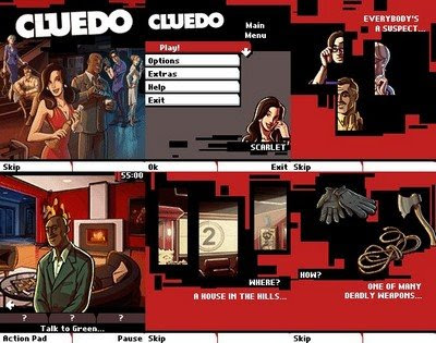 Java Games CLUEDO For Mobiles