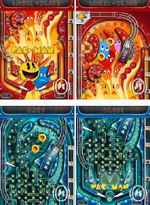 Pac-Man Pinball 2(java game for mobile)