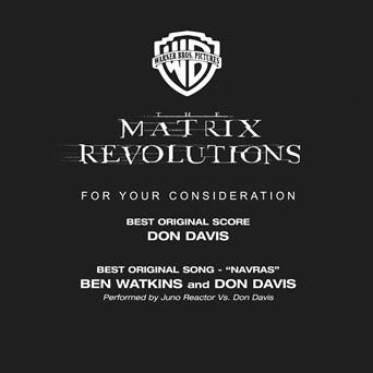 The Matrix Revolutions (Academy Promo)
