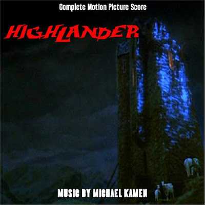 Highlander I + III + TV scores