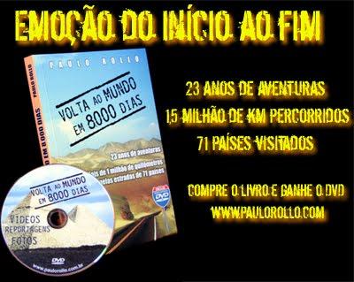 Livro sobre Paulo Rollo