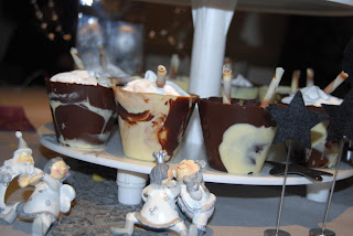 Divinas tartas postres de chocolate para celebrar - Postres faciles para nochevieja ...
