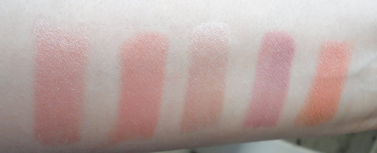 prettythings rimmel lippies swatches