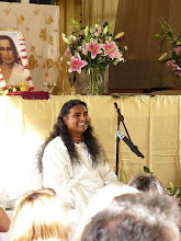 Prvn Darshan Sri Swamiho Vishwanandy v Praze, srpen 2009