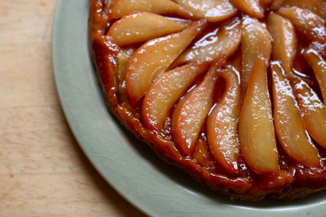 Yummy Supper : Pear Tart Tatin