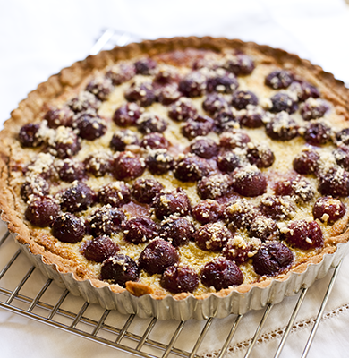 with cherry clafoutis recipe a cherry almond clafoutis cherry almond ...