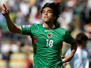 Martins, Bolivia Vs Argentina 6 a 1