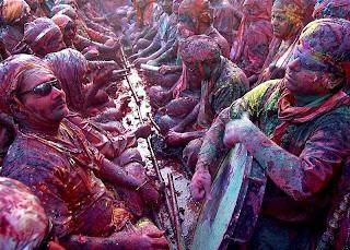 Holi festival de colores