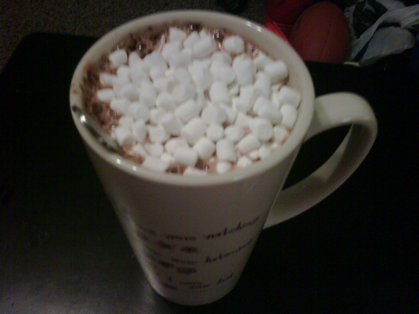 ... End... Glorify Christ: Rainy Days = Hot Chocolate w/ Marshmallows