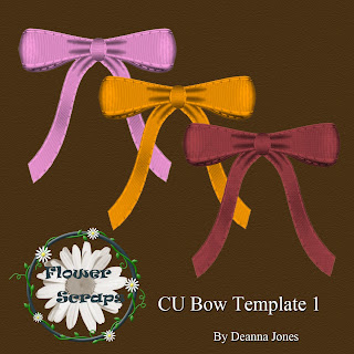 Bow Template 2 - By: Flower Scraps Bow+1+preview