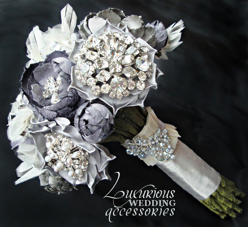 Bridal Flowers With Bling : Weddings new york wedding bling