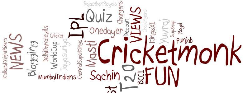 Cricket Monk