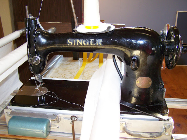 Busy Hands Quilts: Vintage Long-Arm Quilting Machine : quilting long arm machines home use - Adamdwight.com