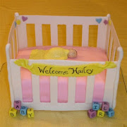 Baby Crib Cake
