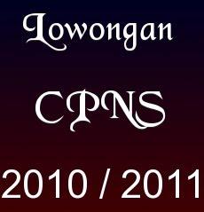 pembukaan penerimaan cpns 2012