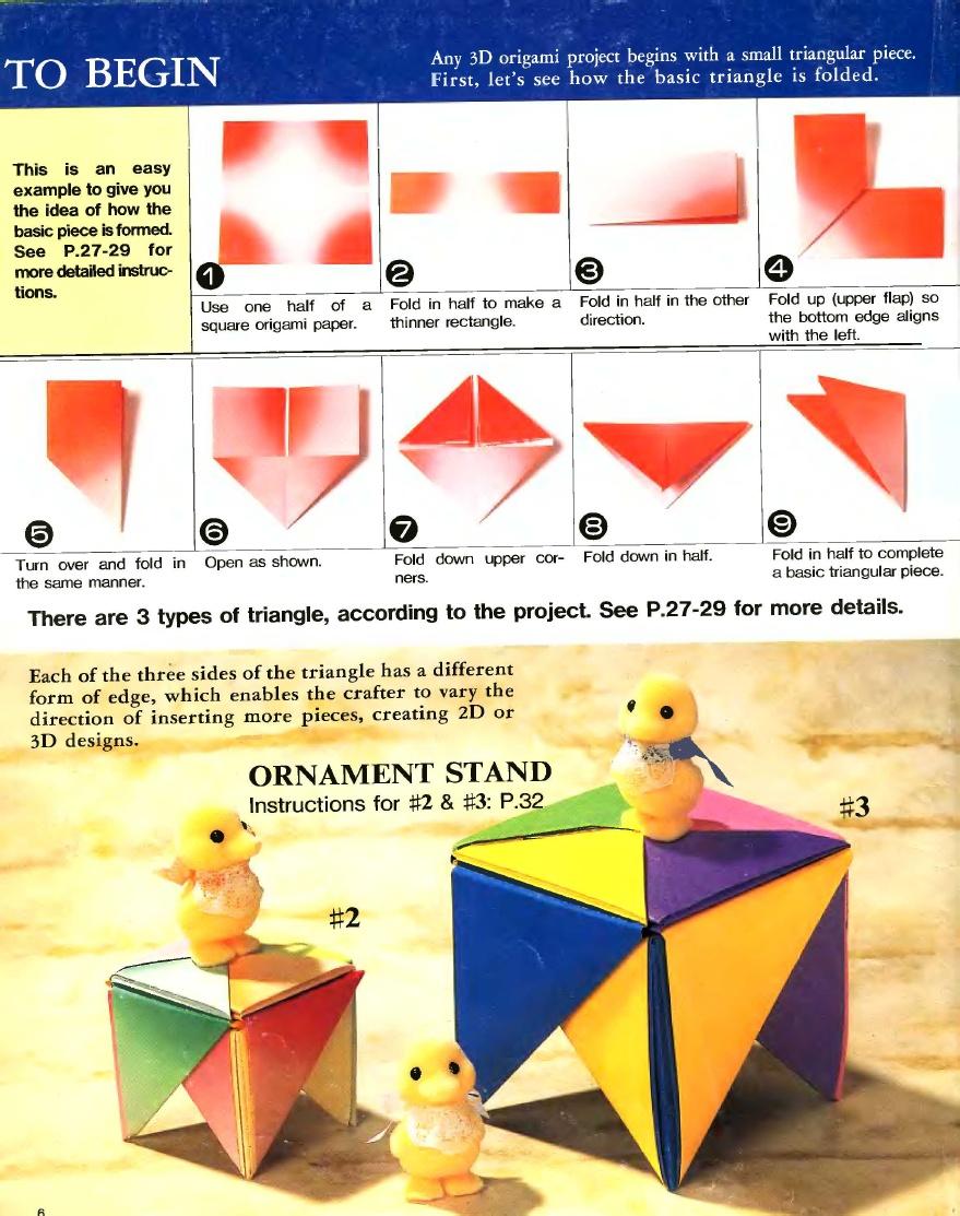 Nihon no monogatari: Cara membuat Origami 3D