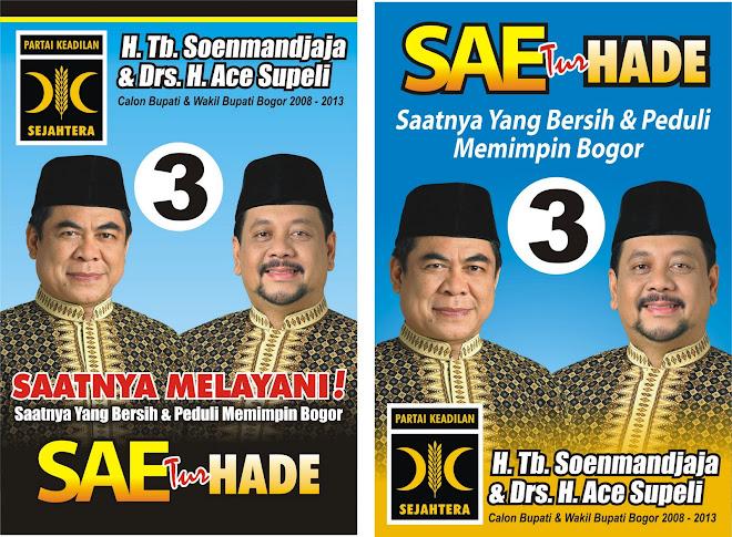 SAE (Sunmandjaja-Ace Supeli) Calon Bupati/Wakil Bupati Bogor 2008-2013