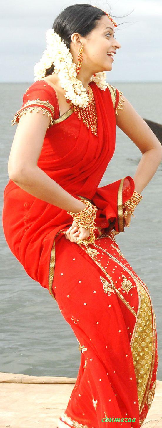 Bhavana hot in red saree from movie mahatma images tollywood369 tollywood369 thecheapjerseys Images