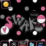 SWAK BlackBerry Themes 1 150x150 Blackberry Torch Themes Sealed With a Kiss