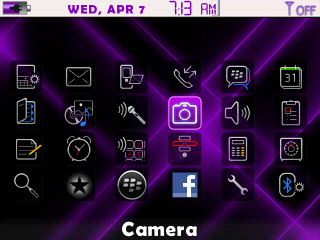 Cosmic Remix Purple 83XX Purple Cosmic Remix BlackBerry Curve and Pearl Themes