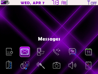 Cosmic Remix Purple 83XX 2 Purple Cosmic Remix BlackBerry Curve and Pearl Themes