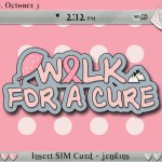 Walk for the Cure BlackBerry Themes2 150x150 Breast Cancer Support BlackBerry Themes