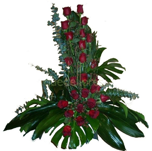 Flores para hacer centros de mesa navide os - Centros florales navidenos ...