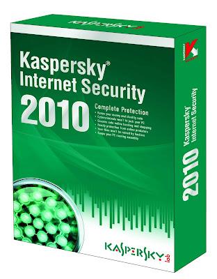 Антивирусная программа Касперского 2010 Internet Security на 2 ПК.