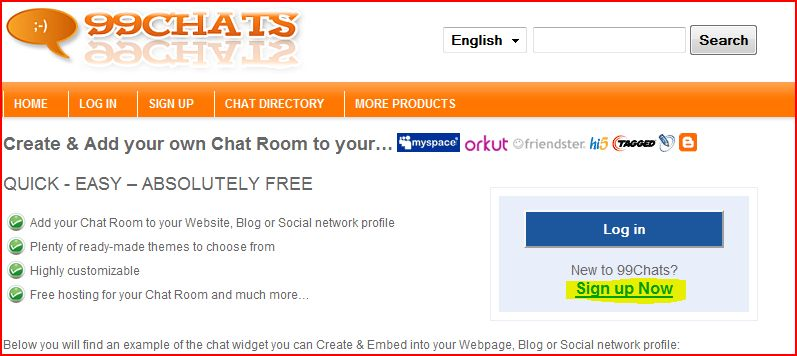 chat room web