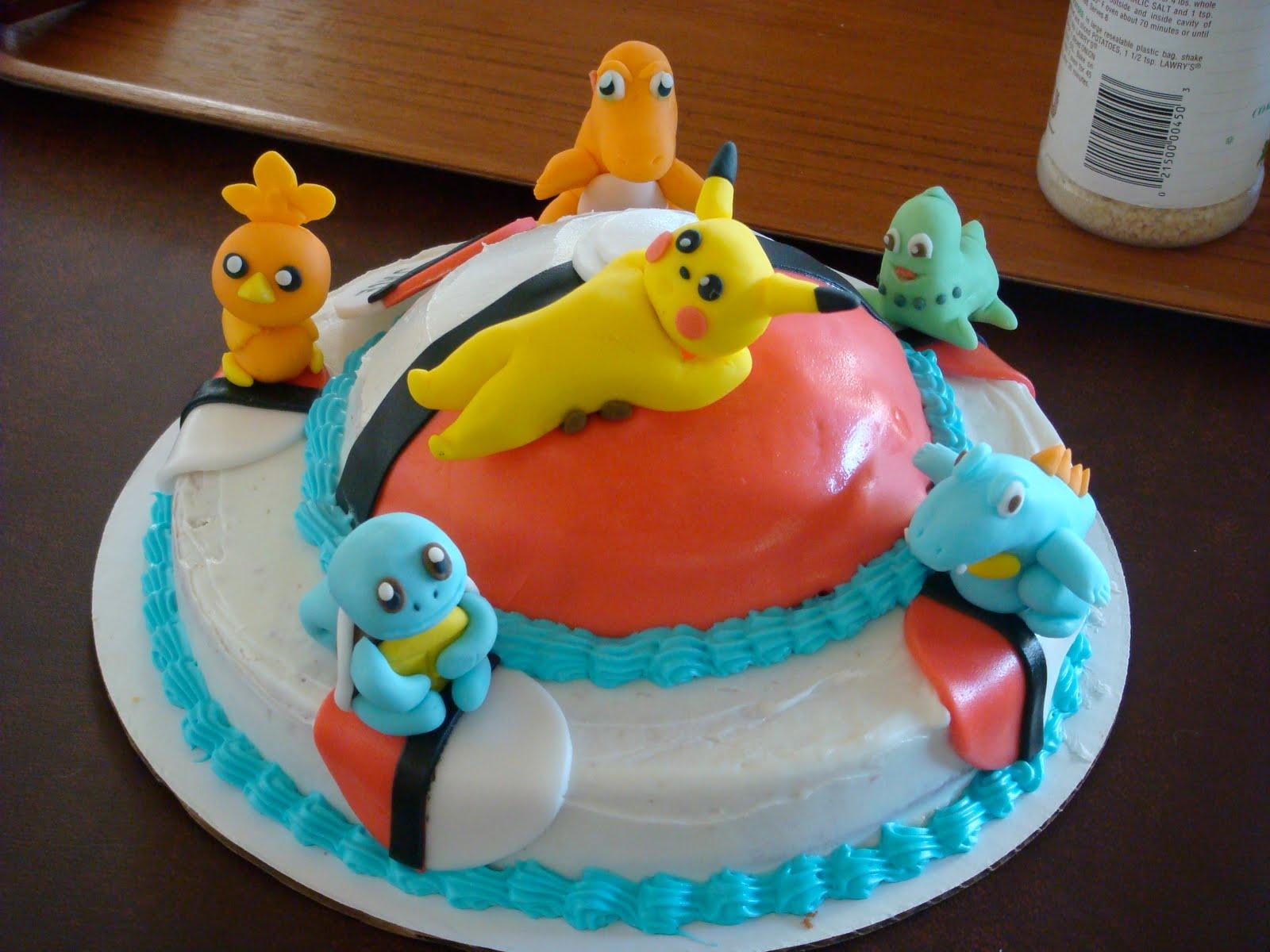 Pokemon Decorated Cakes