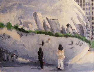 Gloud gate painting