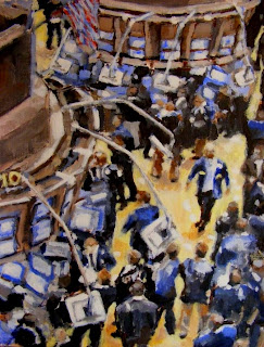 NYSE painting