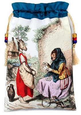 The Tarot Reader, JJ Grandville tarot bag