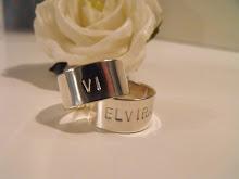 Mina egendesignade, handgjorda ringar! Går att få med valfri text och i valfri storlek!