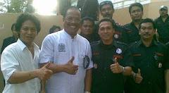 Taufik Bersama dgn Bahar ngitung Ketua KADIN Sul-Sel