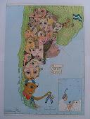 Mapa de la Argentina