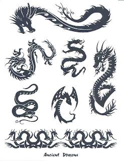 tatuaże smok
