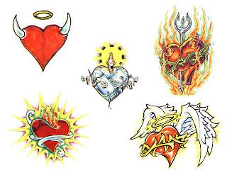 tatuaże serce