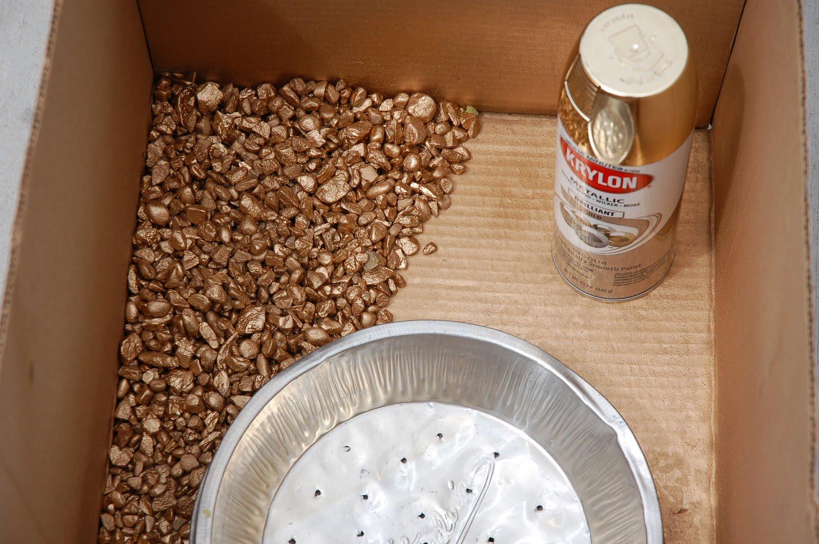 diy panning for gold fair fun pinterest pie tin