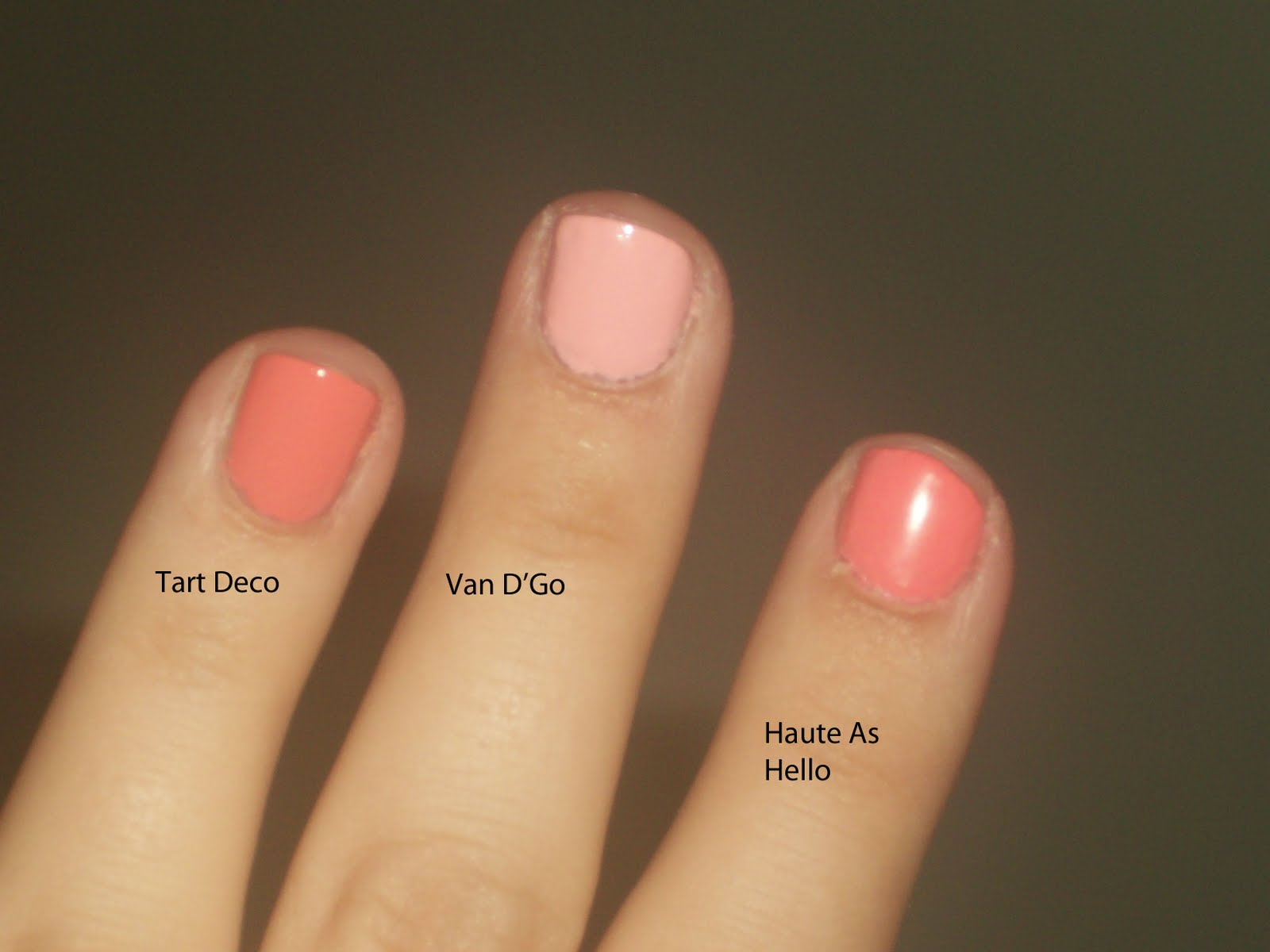 Obsessed By Beauty: Essie Comparison, Haute as Hello, Tart Deco ...