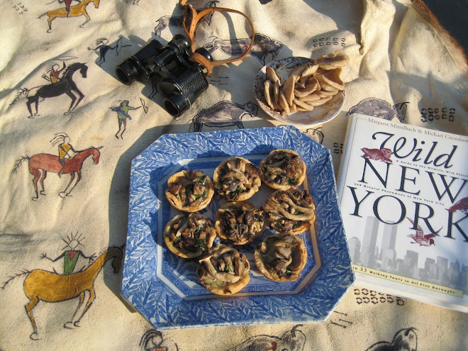 Wild Mushroom Tarts with Wild New York