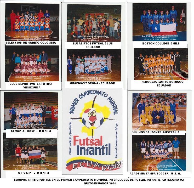 PRIMER  CAMPEONATO MUNDIAL 2004