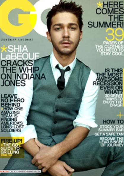 shia labeouf gq cover. shia labeouf gq cover. cover