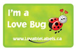 Lovable Labels Ladybug