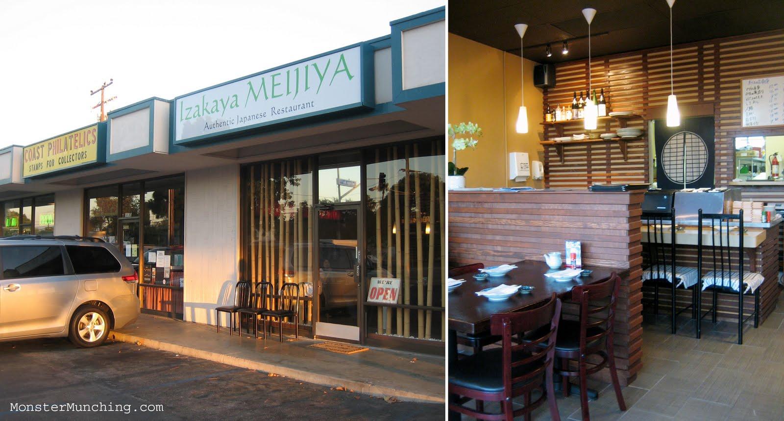 Monster Munching: Izakaya Meijiya - Costa Mesa