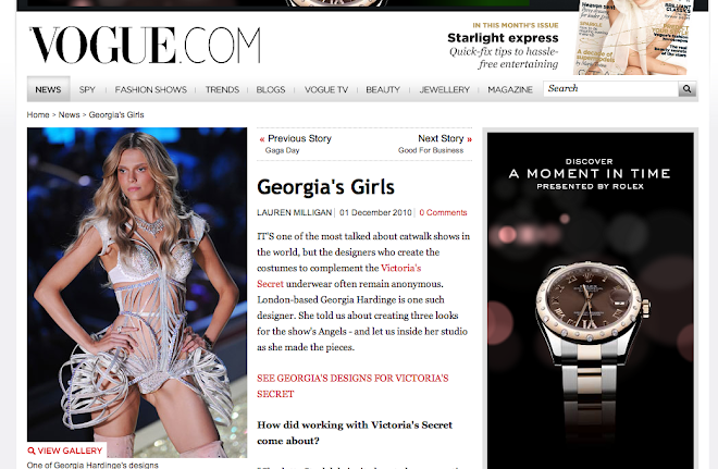 THE VOGUE WRITE UP OF MY COLLABORATION WITH VICTORIA SECRET