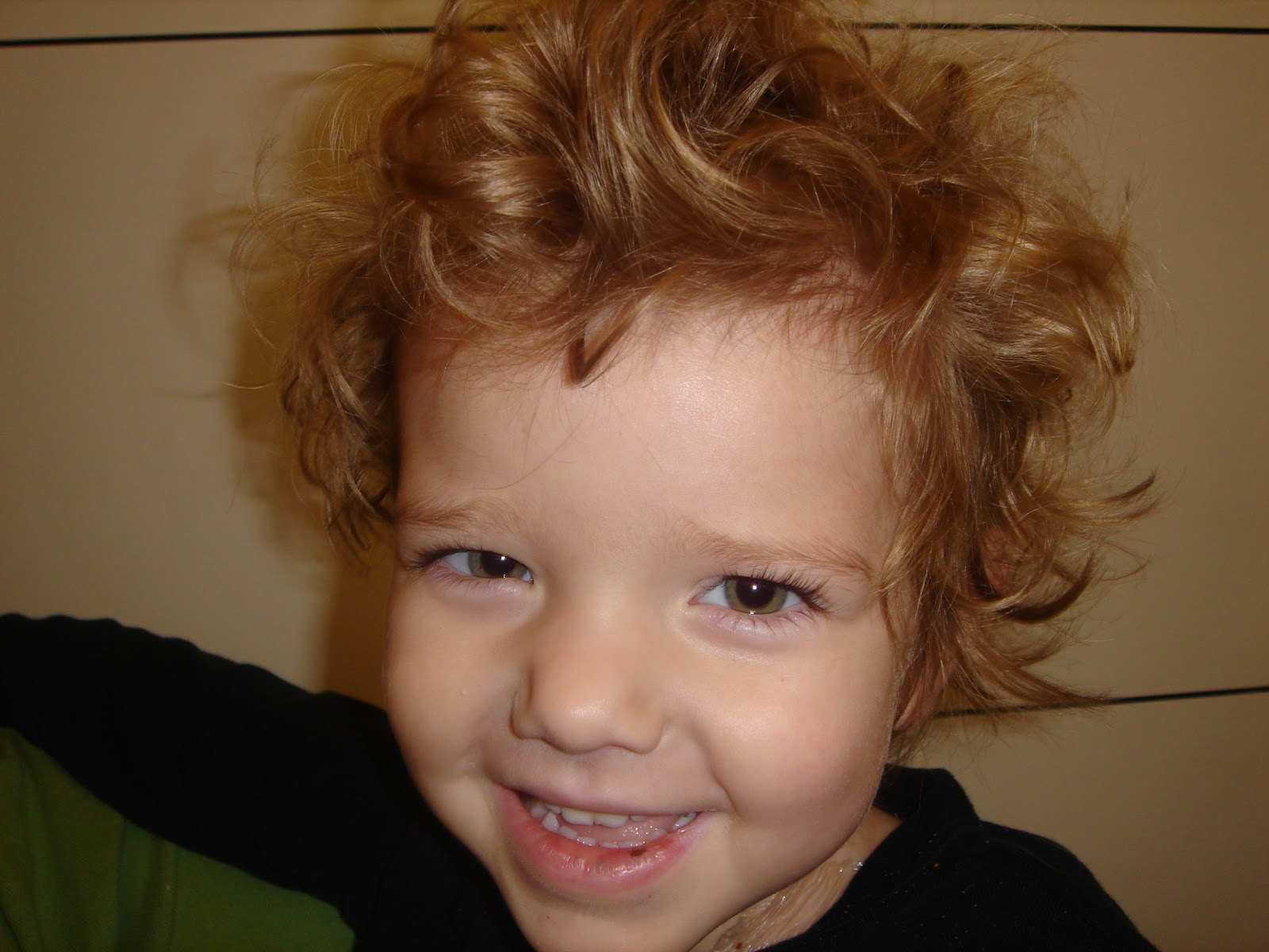 Ty Louis Campbell Our Little Fighter Big Boy Haircut
