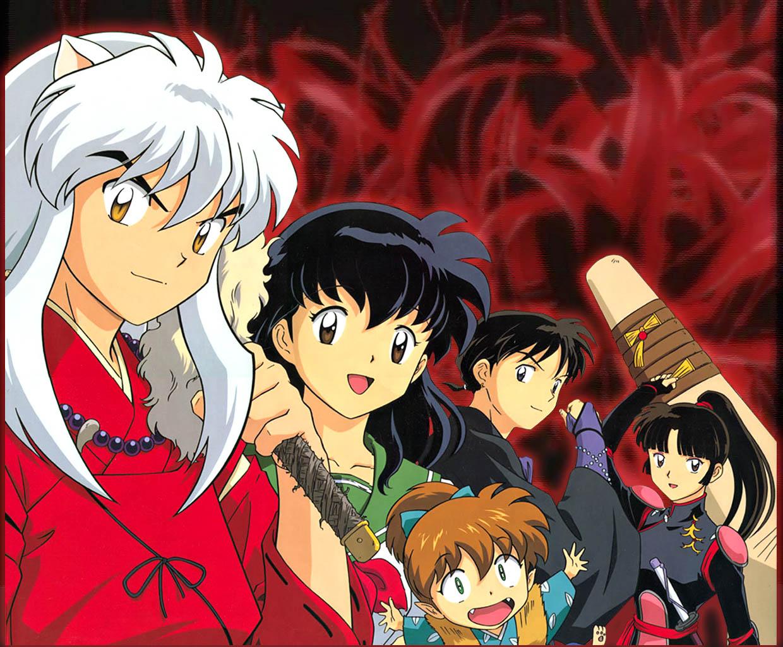 inu yasha anime: