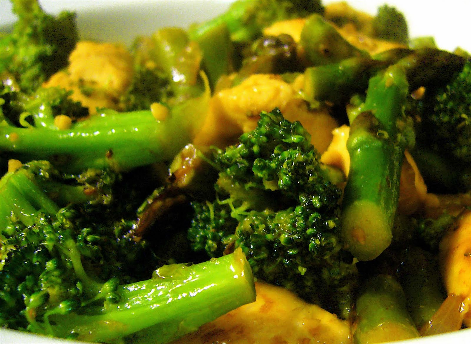Bon Chappétit: chicken, asparagus & broccoli stir-fry